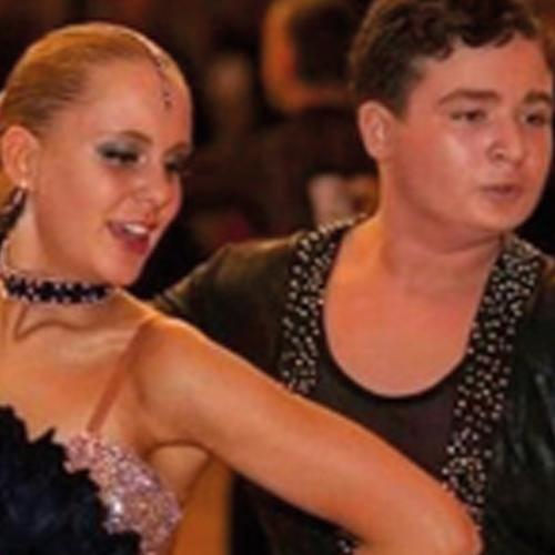Elisabeth Gorenstein und Nikita Yerokhin vom Tanzsportclub Phönix in Hannover